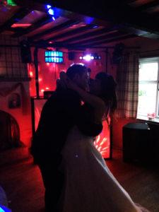 First dance at The Lodge, Tuddenham.