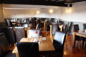 The Lodge restaurant in Tuddenham.