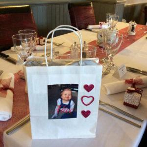 Wedding breakfast at The Lodge.