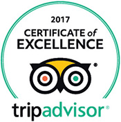The Lodge has received the 2017 TripAdvisor Certificate of Excellence.