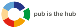 supported by pub is the hub.